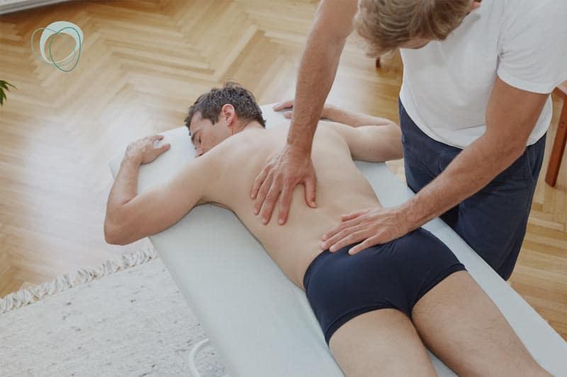 Osteopathie und Physiotherapie ausstrahlende Schmerzen