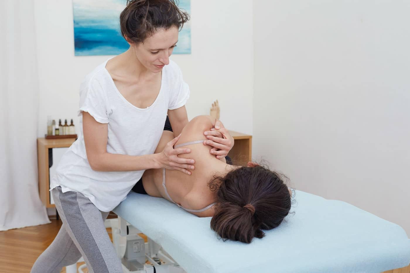 Osteopathie Wien Behandlung